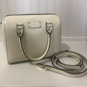 Kate Spade Leather Cream Handbag